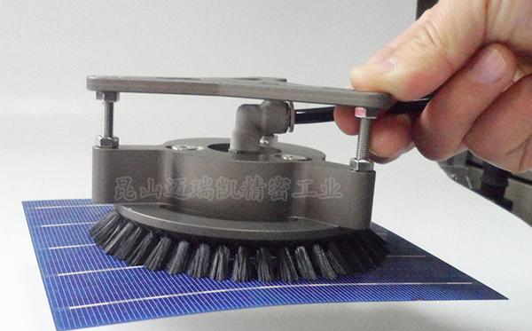 毛刷式伯努利非接触式吸盘MRK-BNL01-120
